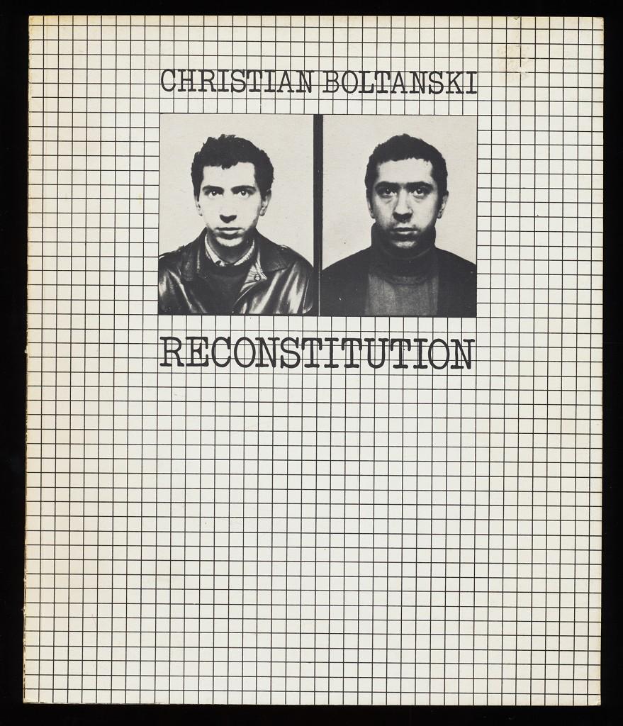 Christian Boltanski : Reconstitution, 17.1. - 5.3.1978 Badischer Kunstverein e.V., Karlsruhe.