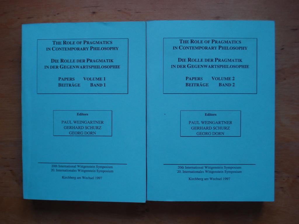 20. Internationales Wittgenstein Symposium / 20th International Wittgenstein Symposium - Beiträge / Papers Vo. I + II