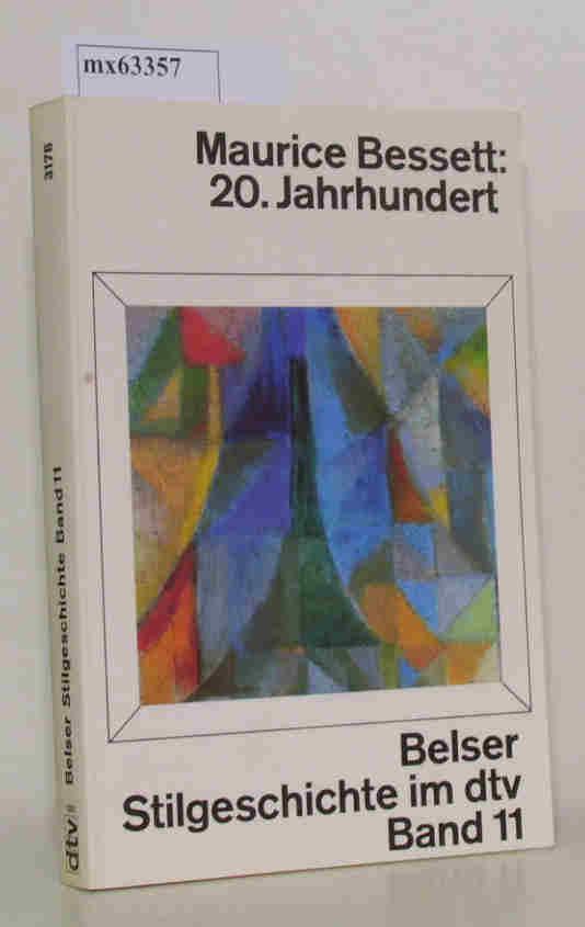 Belser Stilgeschichte im dtv Band 11 20. Jahrhundert