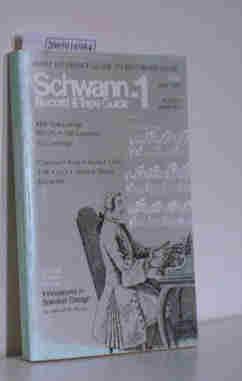Schwann-1 Record & Tape Guide June 1978