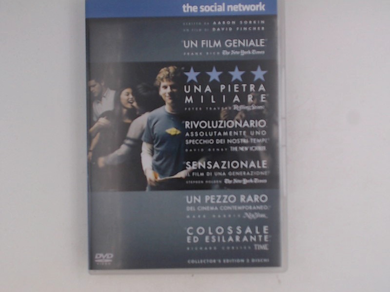 The social network [2 DVDs] [IT Import]