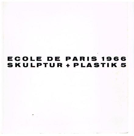 Skulptur und Plastik 5.