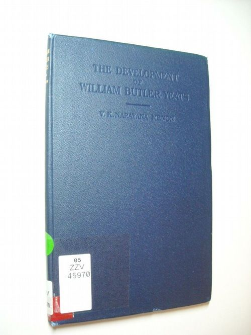 The development of William Butler Yeats