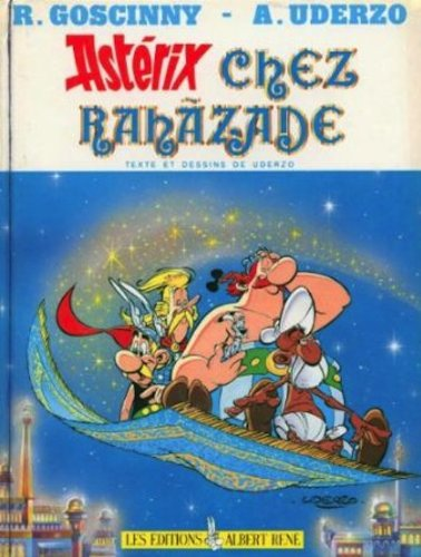 Asterix Chez Rahazade - Ren? Goscinny - Hardcover - French Edition 9782864970200