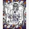 Adult Coloring Book Horror Land Men of Misery (Book 3)